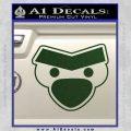 Angry Birds Close D1 Decal Sticker Dark Green Vinyl 120x120