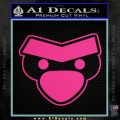 Angry Birds Close D1 Decal Sticker Pink Hot Vinyl 120x120
