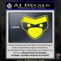 Angry Birds Close D1 Decal Sticker Yellow Laptop 120x120
