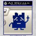 Aqua Teen Hunger Force Decal Sticker Alien Blue Vinyl 120x120