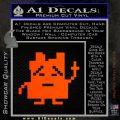 Aqua Teen Hunger Force Decal Sticker Alien Orange Emblem 120x120
