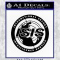 Archer ISIS Spy Logo Decal Sticker Black Vinyl 120x120