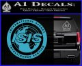 Archer ISIS Spy Logo Decal Sticker Light Blue Vinyl 120x97