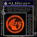 Archer ISIS Spy Logo Decal Sticker Orange Emblem 120x120