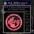 Archer ISIS Spy Logo Decal Sticker Pink Emblem 120x120