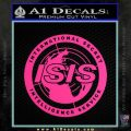 Archer ISIS Spy Logo Decal Sticker Pink Hot Vinyl 120x120