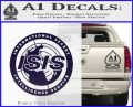 Archer ISIS Spy Logo Decal Sticker PurpleEmblem Logo 120x97