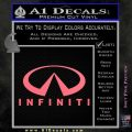 Infinity Stacked Fat Decal Sticker Pink Emblem 120x120