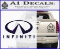 Infinity Stacked Fat Decal Sticker PurpleEmblem Logo 120x97