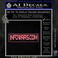 Infowars Dot Com D2 Decal Sticker Pink Emblem 120x120