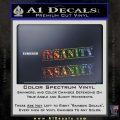 Insanity Workout D1 Decal Sticker Glitter Sparkle 120x120