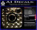 Instagram SQ Decal Sticker 3DChrome Vinyl 120x97