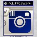 Instagram SQ Decal Sticker Blue Vinyl 120x120
