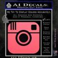 Instagram SQ Decal Sticker Pink Emblem 120x120