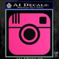 Instagram SQ Decal Sticker Pink Hot Vinyl 120x120