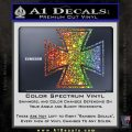 Iron Cross Decal Celtic Sticker D1 Glitter Sparkle 120x120