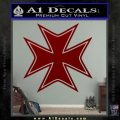 Iron Cross Decal Celtic Sticker D5 DRD Vinyl 120x120