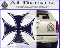 Iron Cross Decal Celtic Sticker D6 PurpleEmblem Logo 120x97