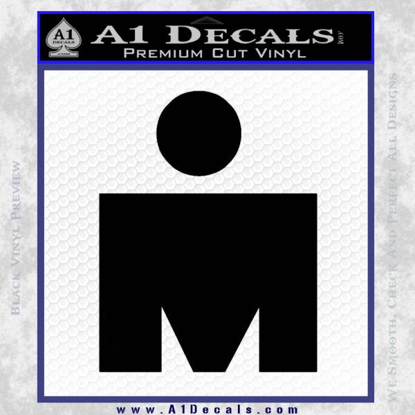 Ironman Triathalon Decal Sticker M A1 Decals