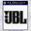 JBL Decal Sticker Outline Decal Sticker Black Vinyl 120x120