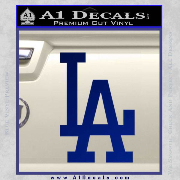 La Dodgers Classic Decal Sticker A1 Decals
