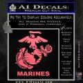 Marines Decal Sticker Full Pink Emblem 120x120