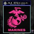 Marines Decal Sticker Full Pink Hot Vinyl 120x120