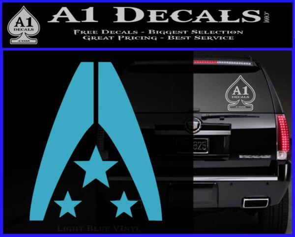 Mass Effect Systems Alliance Navy Logo Decal Sticker 187 A1