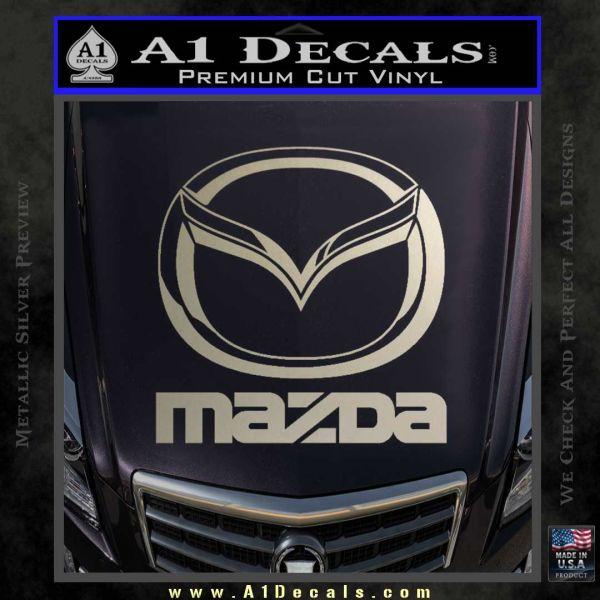 Mazda Decal Sticker Full 187 A1 Decals