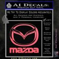 Mazda Decal Sticker Full Pink Emblem 120x120