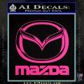 Mazda Decal Sticker Full Pink Hot Vinyl 120x120