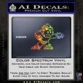 Mega Man 8 Bit Nintendo D2 Decal Sticker Glitter Sparkle 120x120