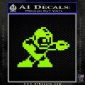 Mega Man 8 Bit Nintendo D2 Decal Sticker Lime Green Vinyl 120x120