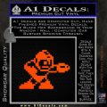 Mega Man 8 Bit Nintendo D2 Decal Sticker Orange Emblem 120x120