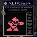 Mega Man 8 Bit Nintendo D2 Decal Sticker Pink Emblem 120x120