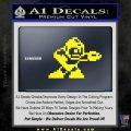Mega Man 8 Bit Nintendo D2 Decal Sticker Yellow Laptop 120x120