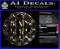 Mercedes Benz C1 Decal Sticker 3DChrome Vinyl 120x97