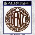 Mercedes Benz C1 Decal Sticker BROWN Vinyl 120x120