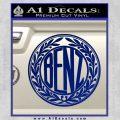 Mercedes Benz C1 Decal Sticker Blue Vinyl 120x120