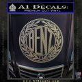 Mercedes Benz C1 Decal Sticker Carbon FIber Chrome Vinyl 120x120
