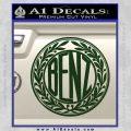 Mercedes Benz C1 Decal Sticker Dark Green Vinyl 120x120