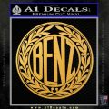 Mercedes Benz C1 Decal Sticker Gold Vinyl 120x120