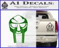 Mf Doom Mask D1 Decal Sticker Green Vinyl Logo 120x97