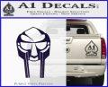 Mf Doom Mask D1 Decal Sticker PurpleEmblem Logo 120x97