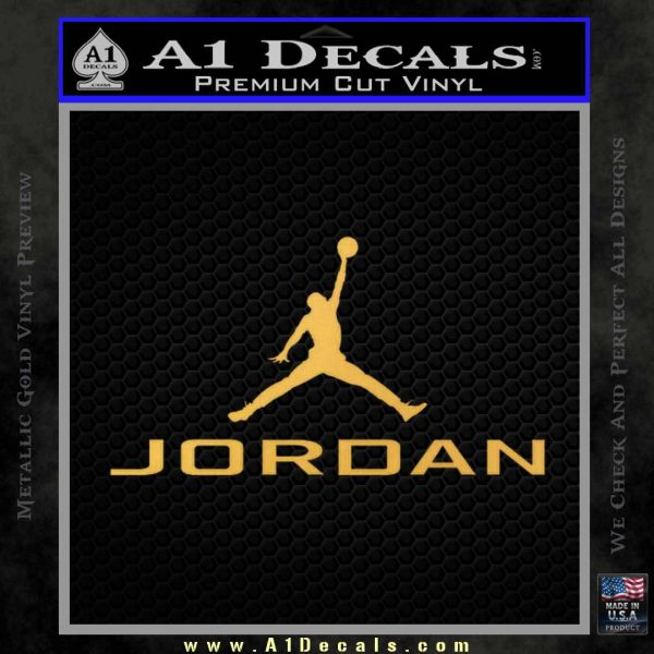 Michael Jordan Jumpman Full Decal Sticker 23 187 A1 Decals