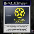 Molon Labe Ammo Star Skull Decal Sticker Yellow Laptop 120x120
