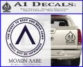 Molon Labe CR Decal Sticker PurpleEmblem Logo 120x97