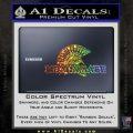 Molon Labe D4 Decal Sticker Glitter Sparkle 120x120
