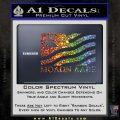 Molon Labe Flag Decal Sticker Glitter Sparkle 120x120
