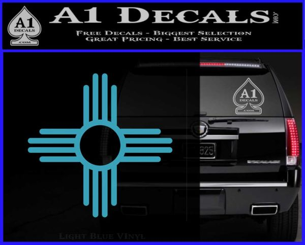 New Mexico Zia Symbol Decal Sticker 187 A1 Decals